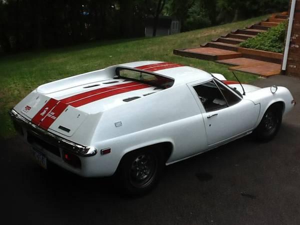 Daily Turismo: 19 of 50: Diane: 1970 Lotus Europa S2