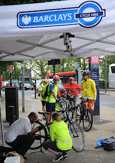 Barclays Bike Clinic on lambethcyclists.org.uk