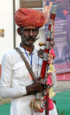 Rajasthani old Man and Woman Photos