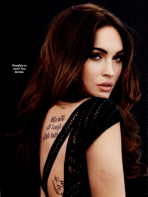 Megan Fox - Cosmopolitan Magazine (April 2012)