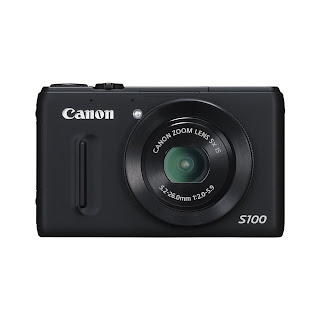 Canon Powershot S100 Camera Back View