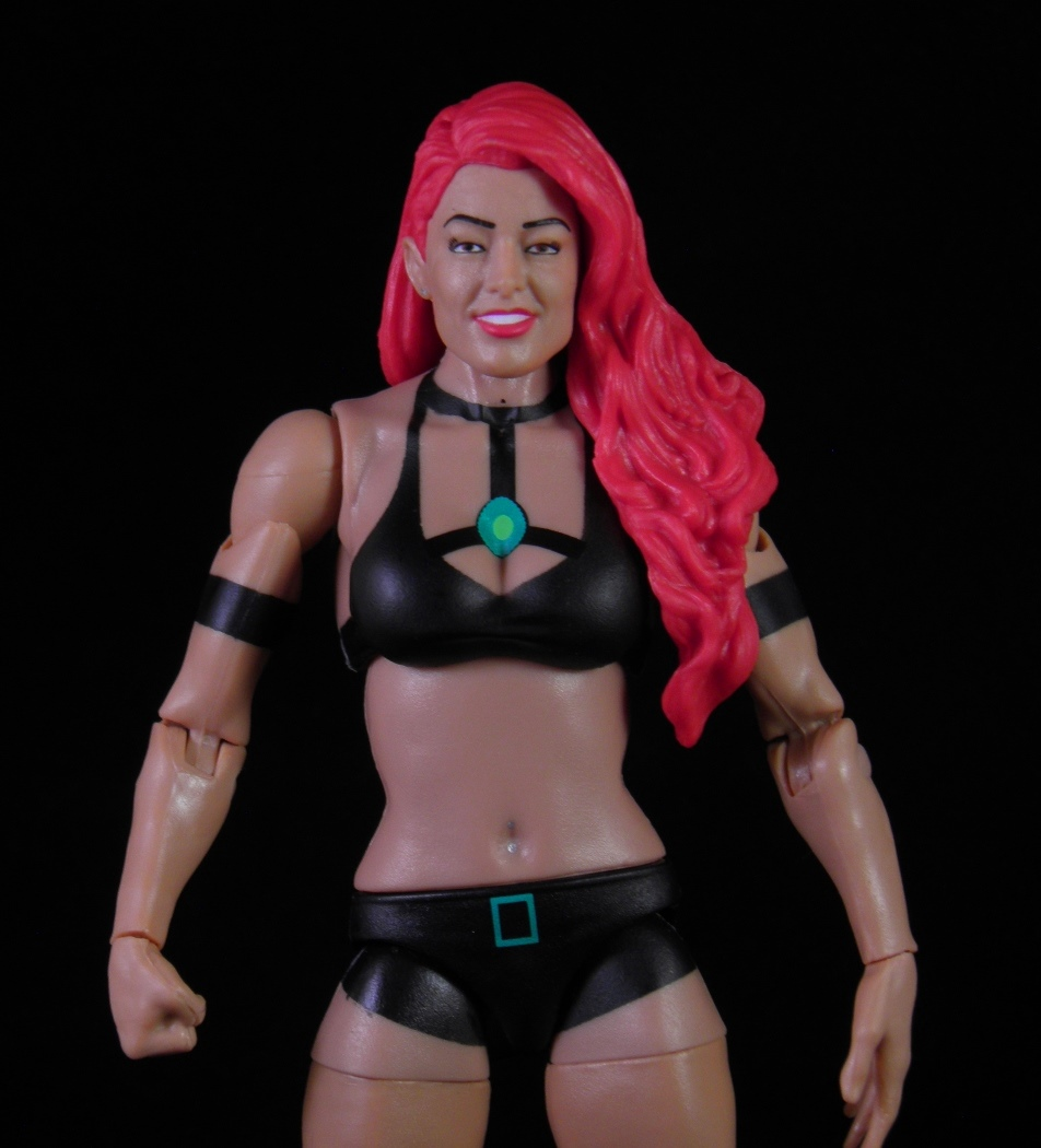 from this line  In fact  her body is identical to half my WWE ladiesWwe Eva Marie Action Figure