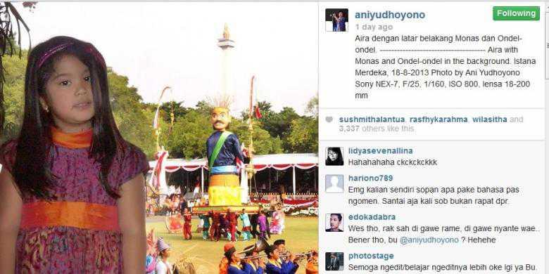 foto-ani-yudhoyono-di-instagram