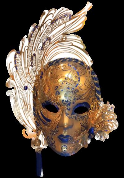Máscara Carnaval PNG - Misteriósa