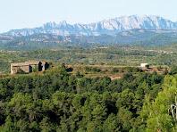El Coll amb Montserrat al fons