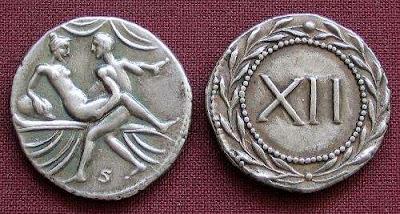 Uang Receh Porno Peninggalan Roma Kuno