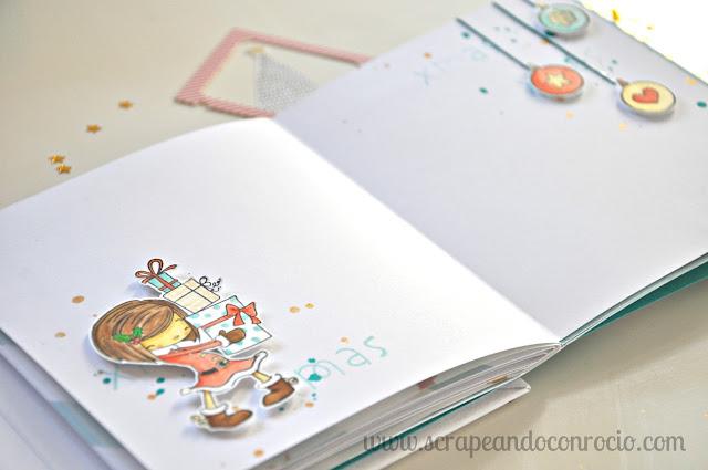 Diario de Navidad Scrapbooking