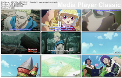 "Download Film / Anime Hunter x Hunter 2011 Episode 74 ""Pemenang dan Pecundang"" Bahasa Indonesia"