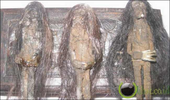 Jenglot mempunyai DNA manusia tetapi tidak memiliki tulang