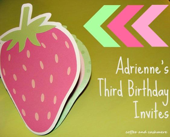 3rd Birthday Invites What