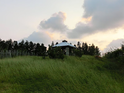Green Grassland Plain at Penghu Island Taiwan