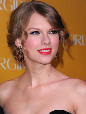 Taylor Swift Gemstone Decorative Earrings