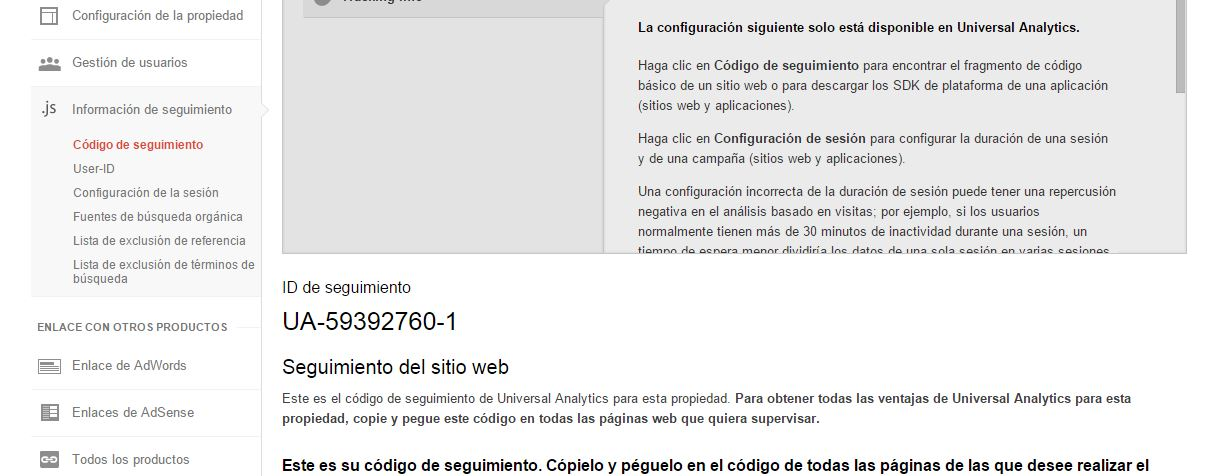 Pasos de Google Analytics 6