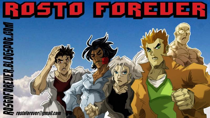 Rosto Forever - BD