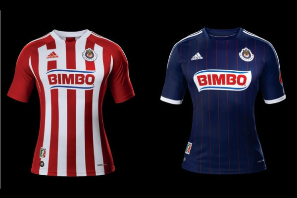 La nuevas playeras Adidas de las Chivas