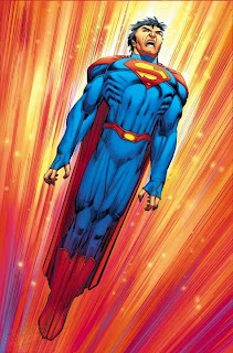 Superman's new costume by John Romita Jr.