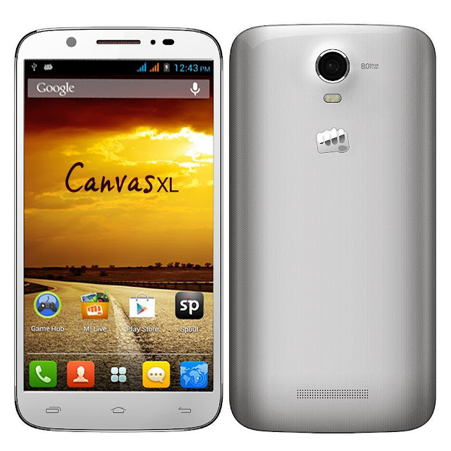 Micromax Canvas XL