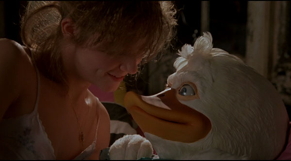 Lea Thompson and Howard the Duck