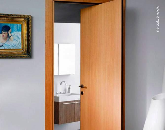 Arquitectura de casas novedosas puertas interiores - Puertas correderas o abatibles ...