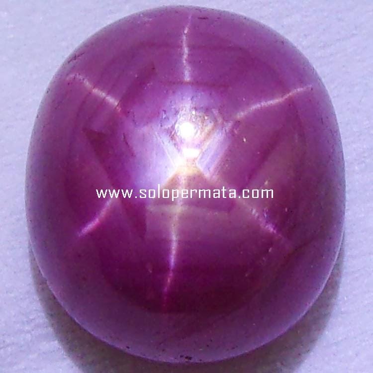Batu Permata Ruby Star - 15A11