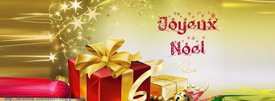 Couverture journal facebook joyeux noel
