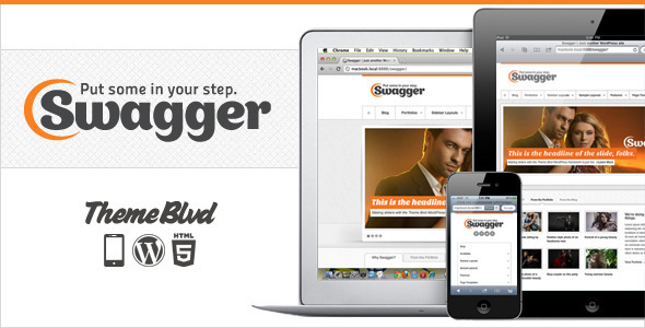 Swagger WordPress Theme Free Download by ThemeForest.