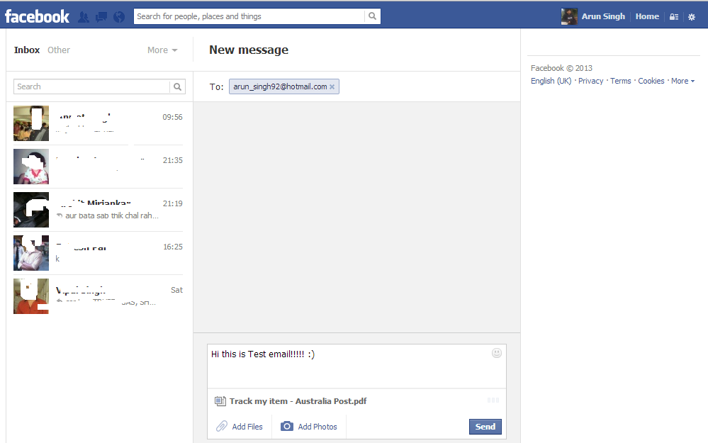 how to delete your email from facebook login