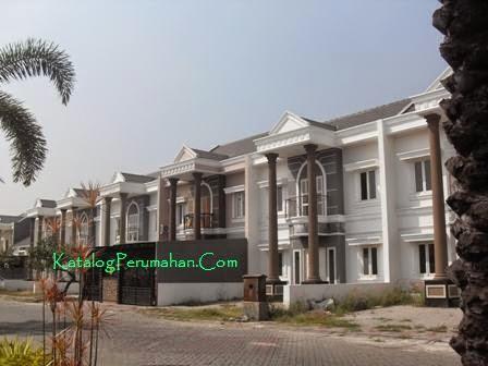 Rumah lantai 2 di jalan masuk Mandiri residence