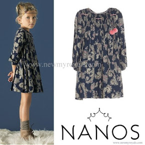 Princess Leonor in NANOS Dress