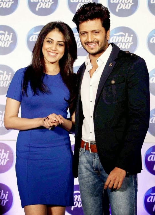 Riteish Deshmukh Genelia D'souza photos