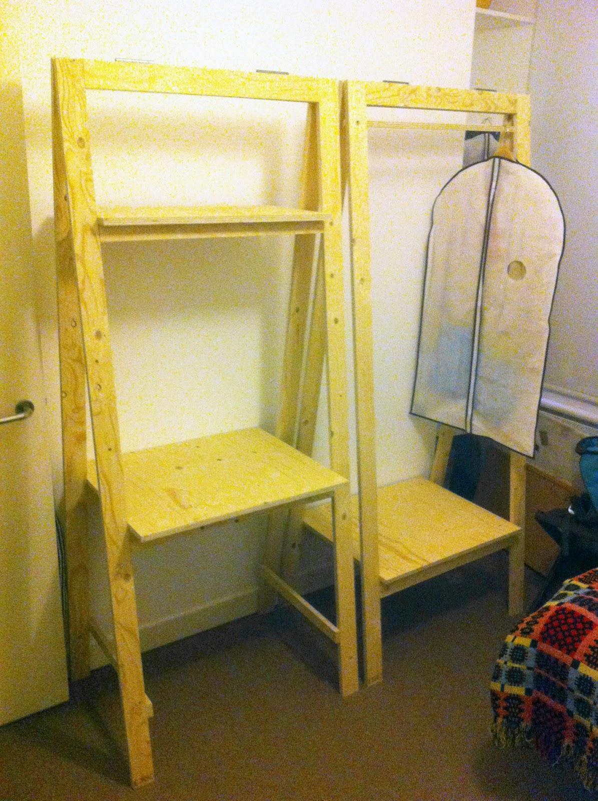 Jamesblaze Flat Pack Free Standing Bedroom Furniture