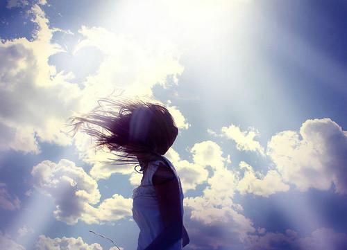 No importa la distancia que nos separe mientras haya un cielo que nos una