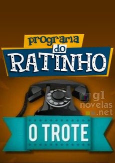 O Trote do Santos: no programa do Ratinho