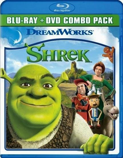 Shrek 1 3d filmin afisi