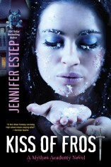 Jennifer Estep Kiss of Frost Mythos Academy #2