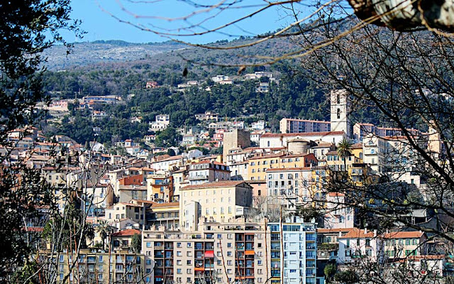 Grasse town in France