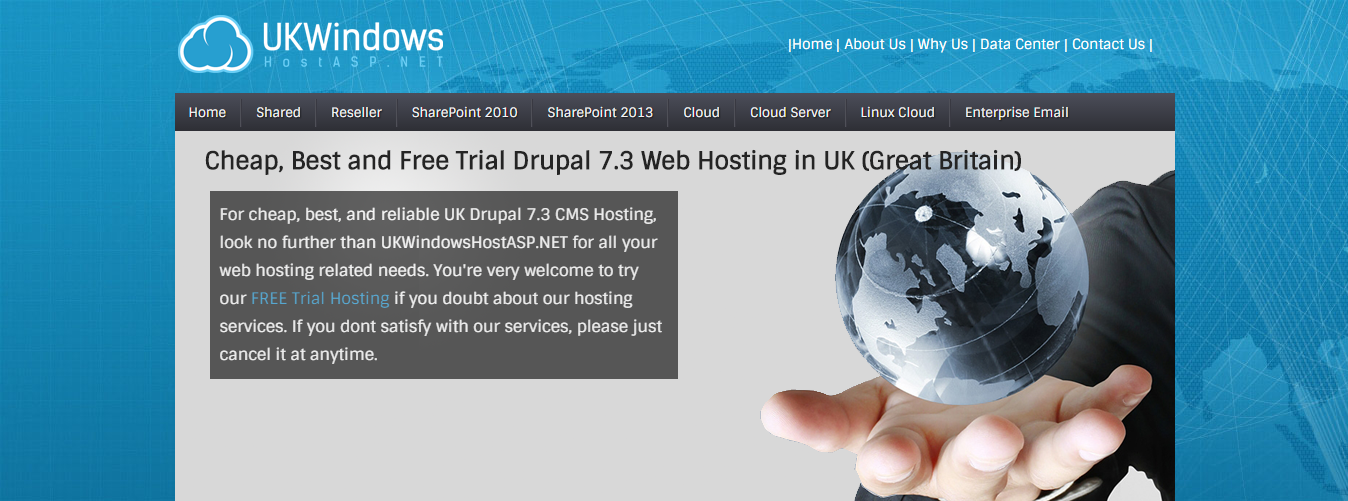 Best ASP.NET Hosting in UK with Fast Drupal