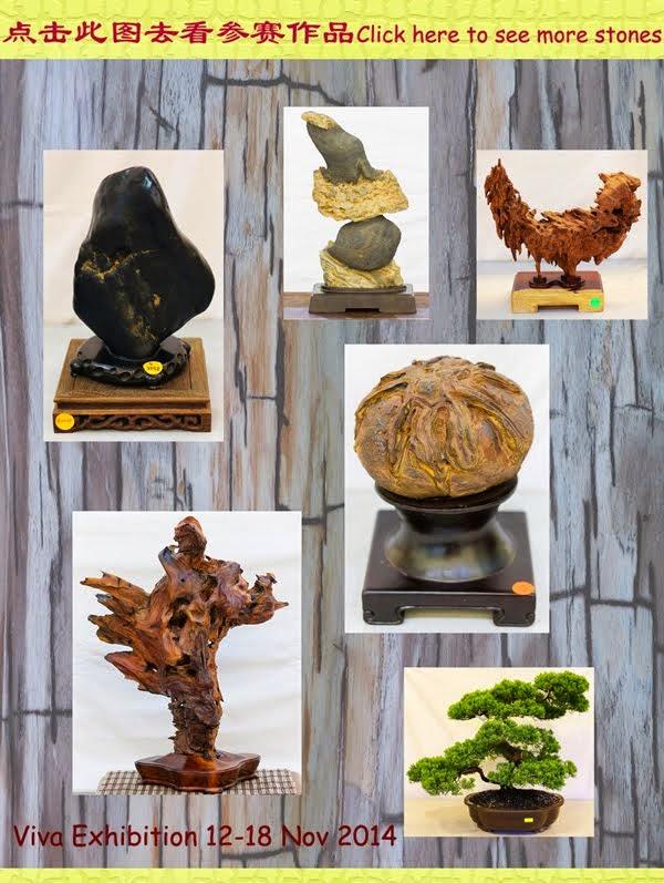 2014 viva 奇石展作品