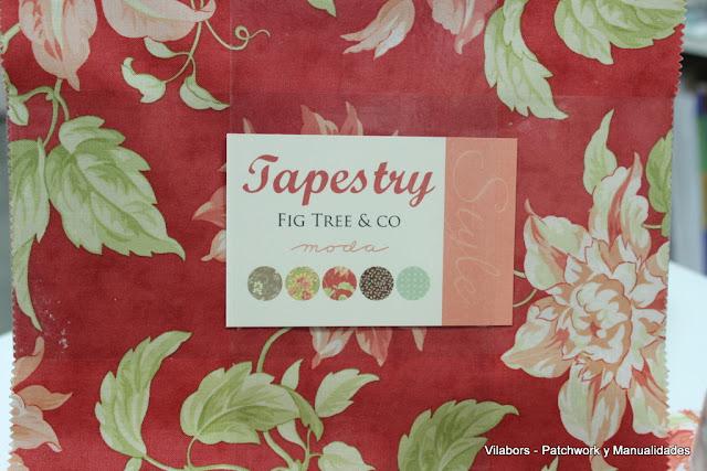 Telas de la colección Layer Cake Tapestry - Vilabors