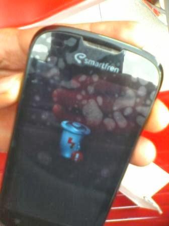 android baterai tanda seru tidak bisa cas