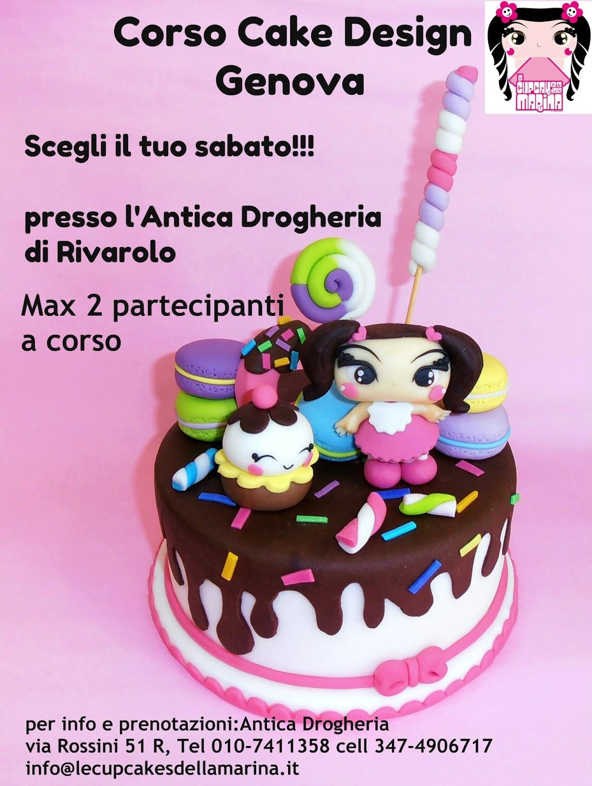 Le Cupcakes della Marina: Corso Cake Design Genova 2013