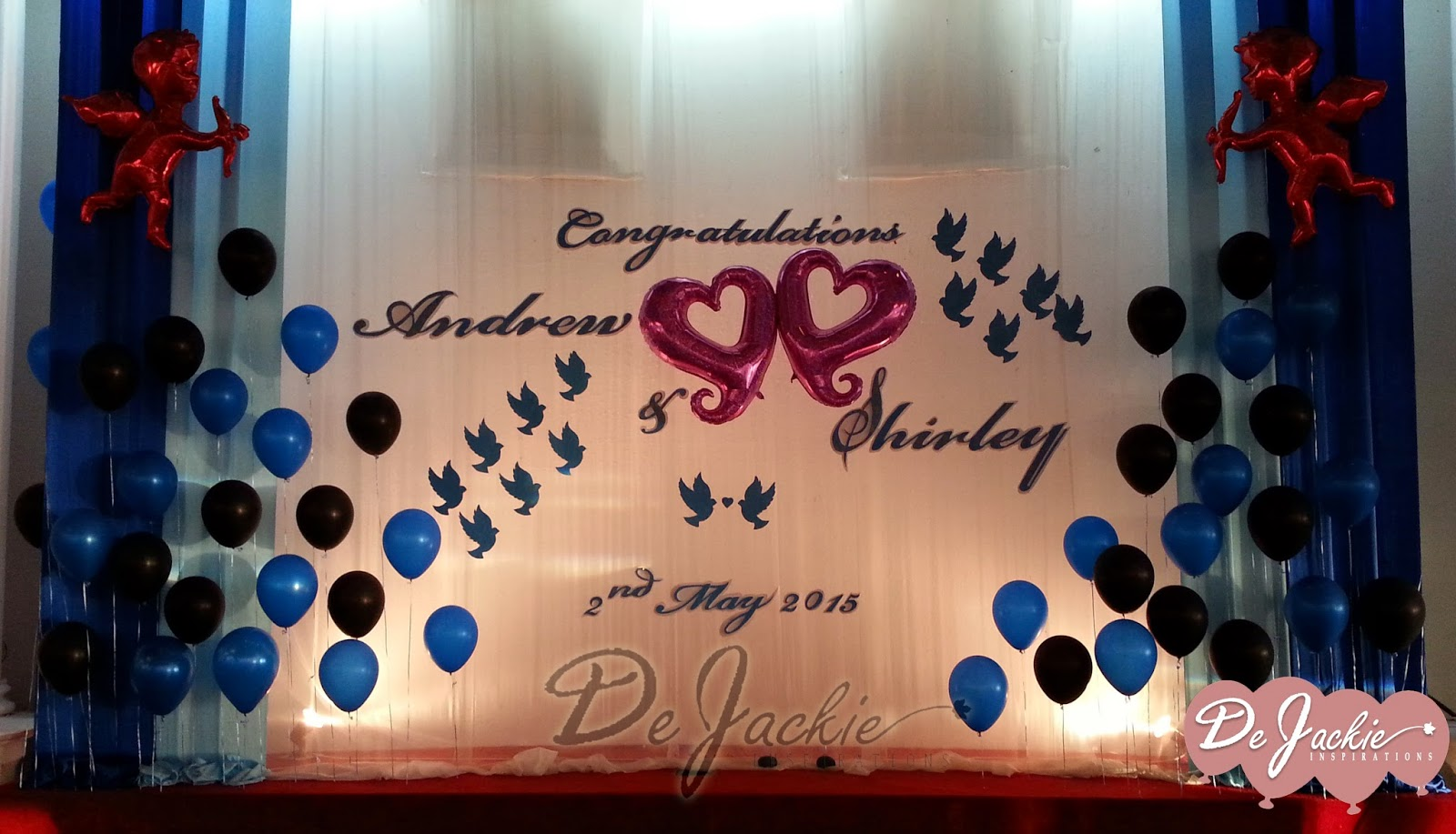 Balloon decorations for weddings birthday parties balloon balloon wedding decoration miri park city everly hotel junglespirit Images