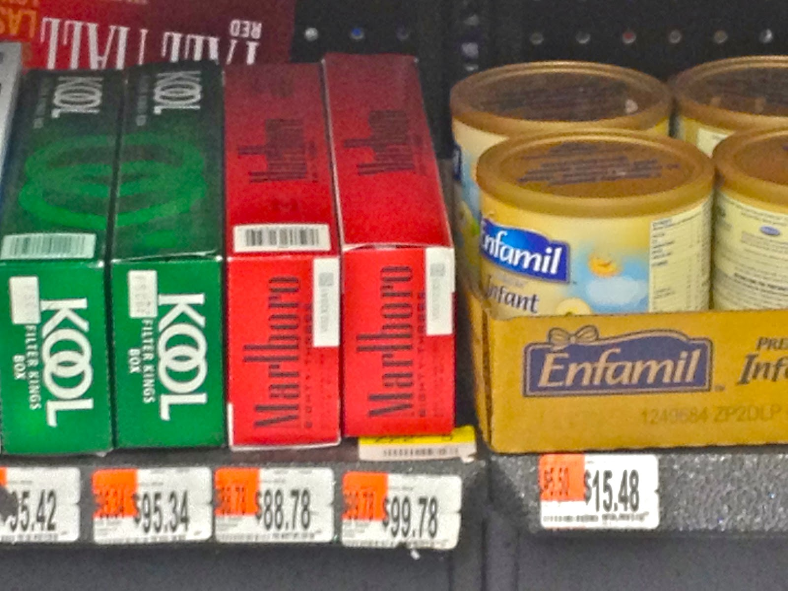 Cigarettes Marlboro packs Pennsylvania