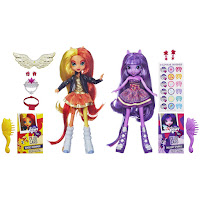 Equestria Girls Sunset Shimmer and Twilight Sparkle