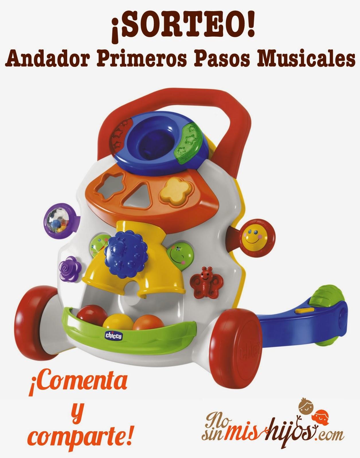 Andador Primeros Pasos Musicales de Chicco
