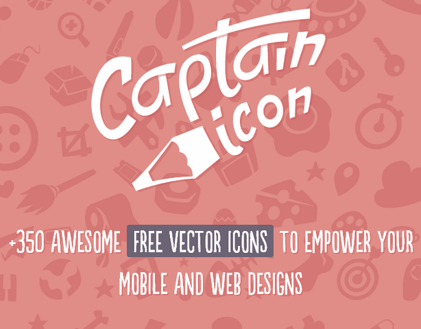 Captain Icon: +350 Awesome free vector icons