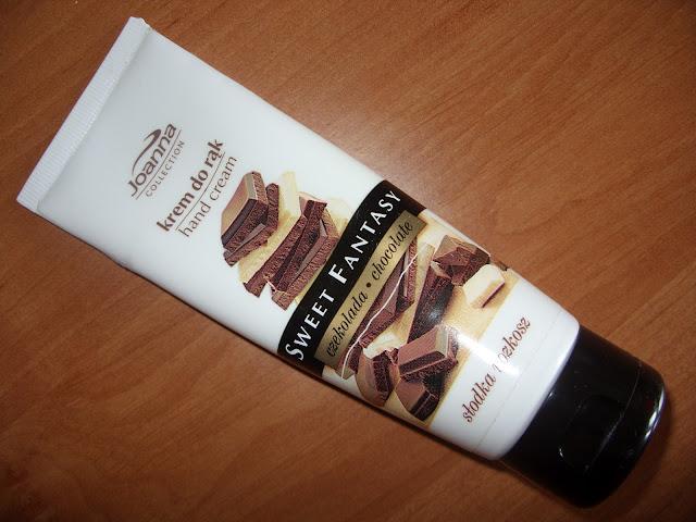 Joanna Sweet Fantasy: czekoladowy krem do rąk