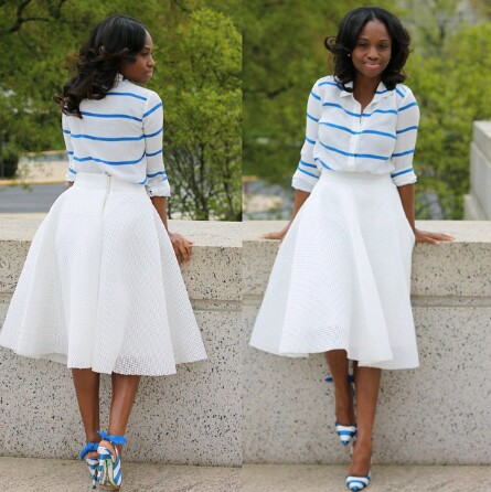 Simple Church Fashion Black Girls