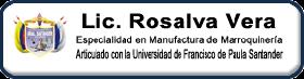 Página de la Profesora Rosalva Vera