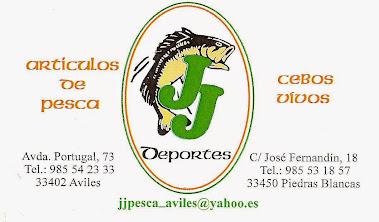 En Avilés y Piedras Blancas (Asturias)...¡¡¡TODO PARA LA PESCA!!!